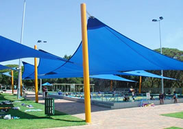 Blue Shade Sail