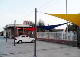 Car Park Sun Shade Sail