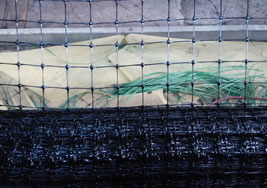 Plastic Black Poly Rodent Deer Fence Net